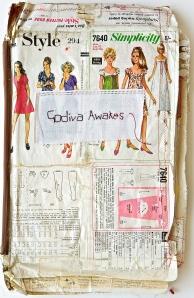 Godiva's Coat 1 - Front Cover