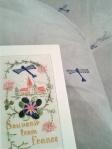 Plane motif & original card